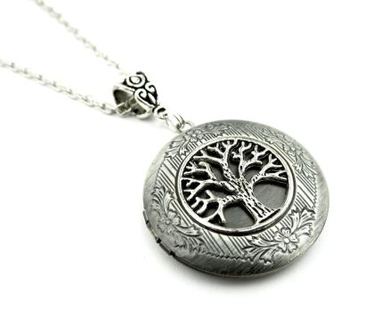 Woodland Picture locket by IndustrialSwank