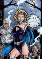Spellcasters Artist Proof - Life Force by tonyperna