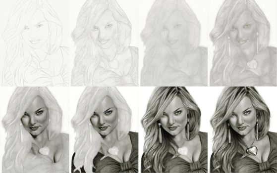 Candice: Stages by Randy-man