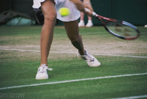 Passion of Tennis II by Sanhoury