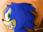 Sonic in the Mood by ComicsNix