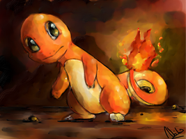 TVP: Charmander by Frozen-Wing