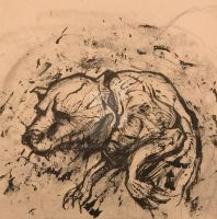 Canine carnage by hydra2007