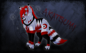 AkatsumiN7 - Commission by Valchyna