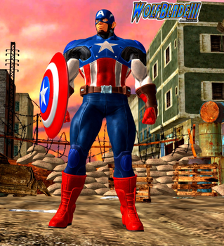 Captain America The First Avenger by WOLFBLADE111