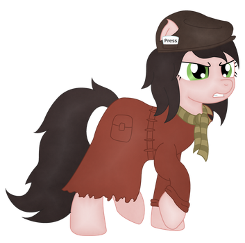 Ponified Piper (Fallout 4) by SoulAkai41