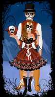 Day of the Dead by M-Mannering