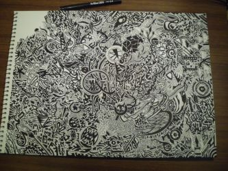 Watch me draw this: 15 hours of detailed work! by ImportAutumn