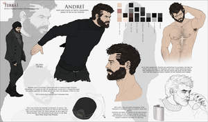 Andrei Character Sheet by Hax-Makina