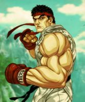 RYU - Street Fighter V by EddieHolly