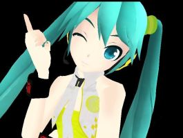 PD YELLOW MIKU DEMO DL by cjpaoshen