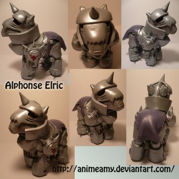 Alphonse Elric Pony by AnimeAmy