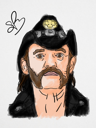 Lemmy Kilmister by StevePaulMyers