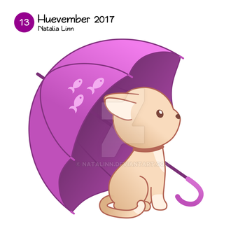 Purple umbrella by natalinn