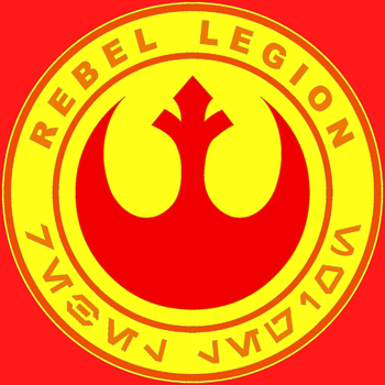 The Rebel Legion's New Logo by MrWonderWorks