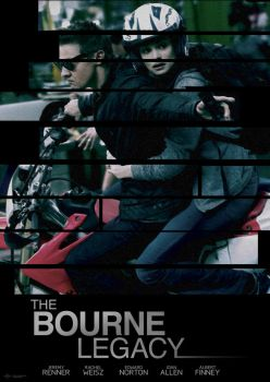 The Bourne Legacy Poster by StephenCanlas