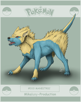 Pokedexproject - Manectric