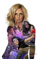 Buffy the Vampire Slayer- Slayer Lineage by Cordy5by5
