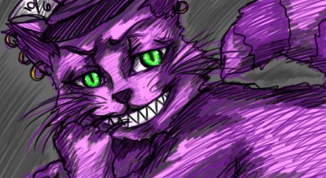 Cheshire Cat by Sabaku-Chick