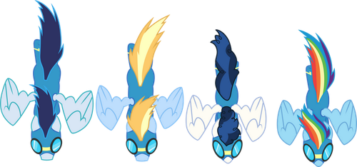 Wonderbolts by CloudyGlow