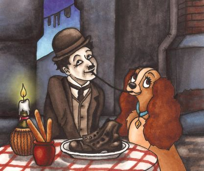 Lady and the Little Tramp by Madelei