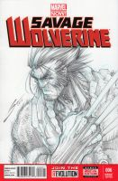 Wolverine Age of Apocalypse-- by Sandoval-Art