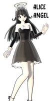 [MMDXBendy And The Ink Machine] Alice Angel...DL by Amy-artist-killer