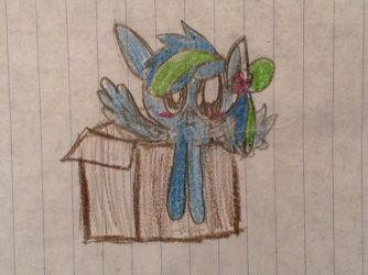 Color splash in a box by rockythebunny13