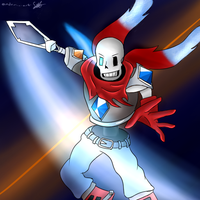 Abyss Papyrus Fan Art by Ender-01