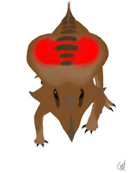 Draw Dinovember Day 12: Protoceratops by sphenaphinae