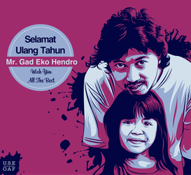 happy birthday mr.gad eko hendro... by Yusuf-Graphicoholic