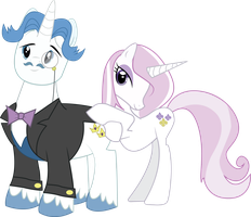 Fancy Pants and his Companion by TheAmazingNoodle