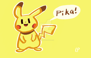 Pika! by LaundryPile