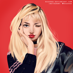 Blackpink Lisa by Ruuukka