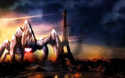 Colossus in Paris by Diigs-Pride