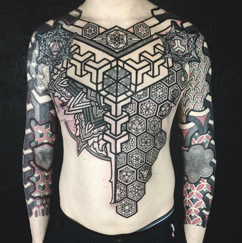 Inga Hannar and Peter Blackhand Madsen Collab by Meatshop-Tattoo