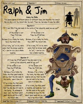 Labyrinth Guide - Ralph + Jim by Chaotica-I