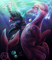 Under the sea Valentine's Day is also celebrate by cadeloo