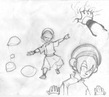 Toph    -      sketches by Gasty83