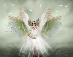 White Angel Child by annemaria48