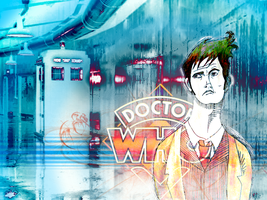 Doctor Who Wallpaper by brody-lover