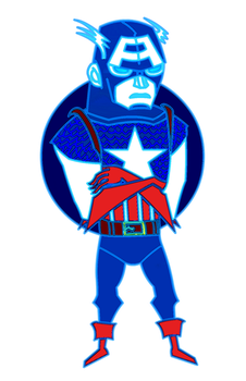 Captain America by KidFromTaiWan