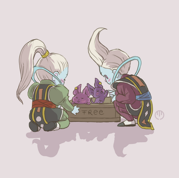Whis and Vados by manokmetz