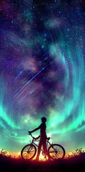 Said the Stars by yuumei