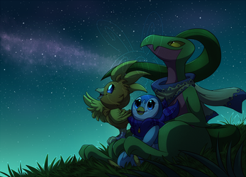 Under the Stars by TeeterGlance