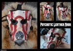 Leather Psychotic Mask by Epic-Leather