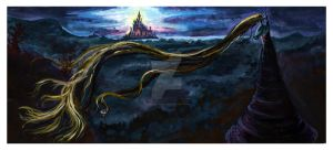 Tangled: Landscape by SarahRaynes
