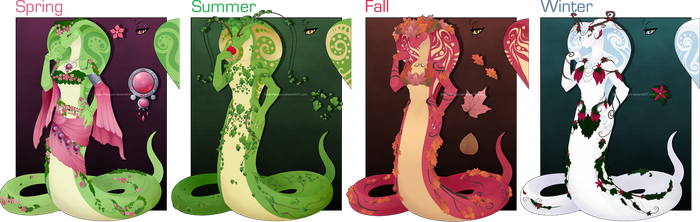 [COM] Queen Of The Seasons by Solar-Paragon
