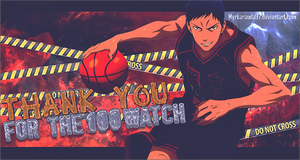 Thank You For The 100 Watch! by MyrkaRauda97