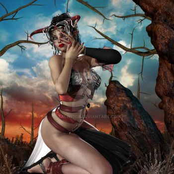 Demoness - A Sultry Evil by Talwicca
